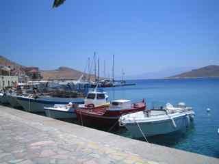 port de pêcheurs Chalki